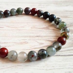 🖤3/$30🖤 African Bloodstone Bracelet